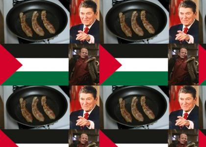 Bacon Reagan Palestine