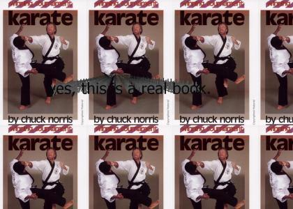 Chuck Norris' Book, Winning Karate