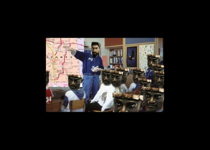 300tmnd: Mr.Leonidas corrects his students