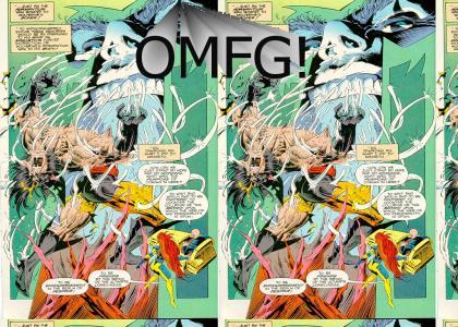 Magneto Vs. Wolverine...