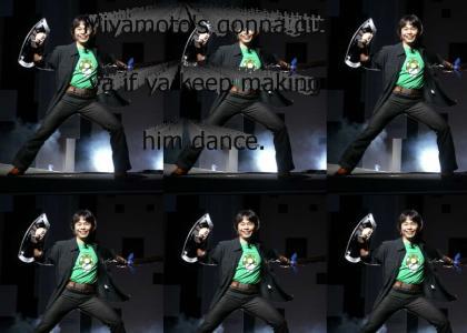 Miyamoto's gonna gut ya.