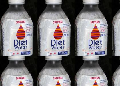 The have finally made Diet Water!