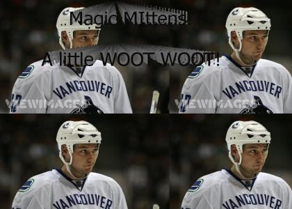 "Hockey - Kyle ""Magic Mittens"" Wellwood"