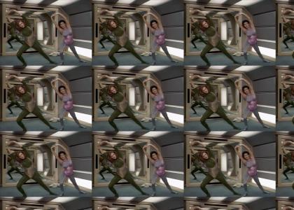 Star Trek TNG aerobics