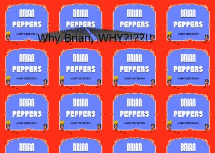 Brian Peppers picks some peppers (Mario 2 edition)
