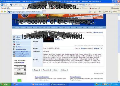 Myspace Post (A Dramatic Reading)