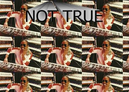 Stevie Wonder LIES!
