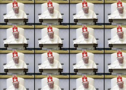 Pope Rocks the Grindcore