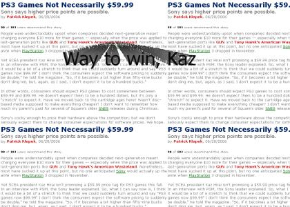 PS3 Games @ $99.99????