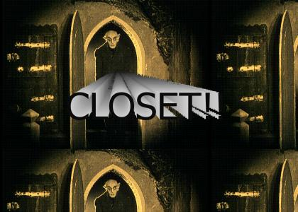 Nosferatu sings about his closet
