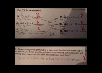 Math is constantly getting pwned!