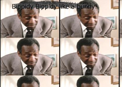 Bill Cosby is BIPPIDY BIPPIDY LIKE A BUNNY