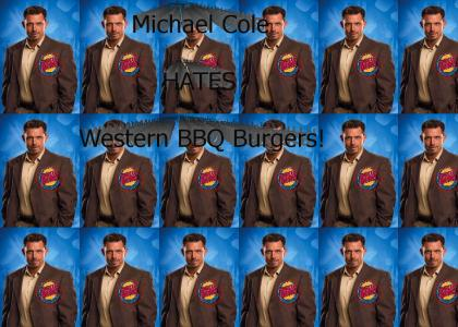 Michael Cole Vs. Western BBQ Burger