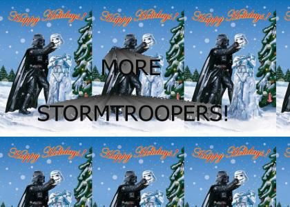 What Darth Vader wants for Christmas