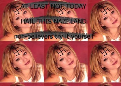 Hillary Duff Is A NAZI!