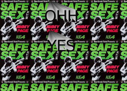 Safe Sex .. with Jimmy Page