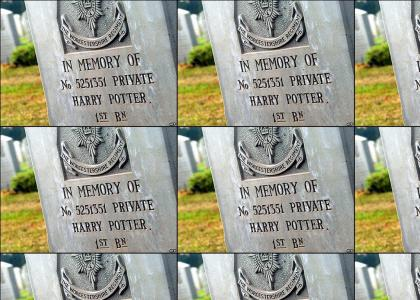 Harry Potter Is Dead