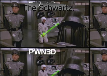 Spaceballs guard had ONE weakness...