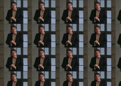 Al Pacino tries the Clapper