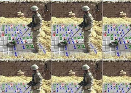 iraq minesweeper