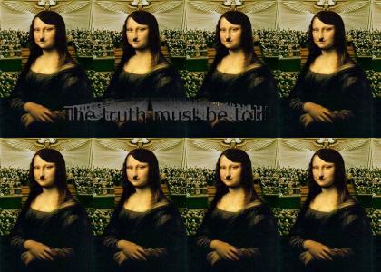 Mona Lisa had a dirty secret...