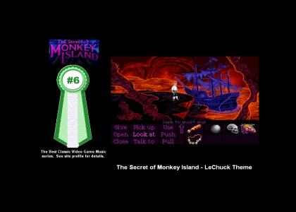 The Secret of Monkey Island - LeChuck Theme (#6 Best Classic Video Game Music)