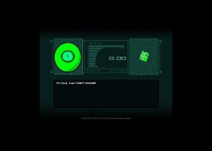 Metal Gear CD Clock