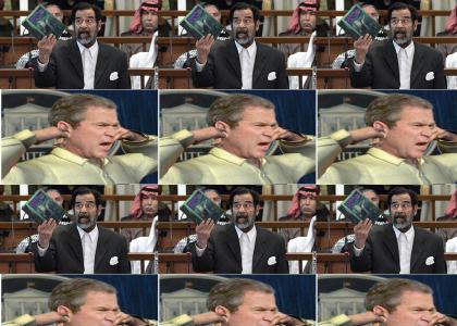Saddam spoils Harry Potter