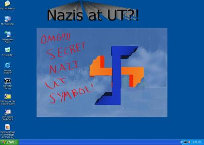 OMG Secret Nazi Desktop Background!!1!
