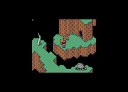 EarthBound's West Cave