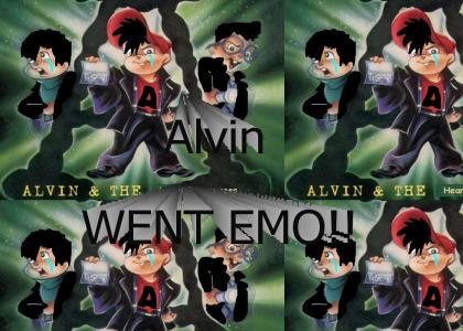 Alvin and the Chipmunks gone EMO