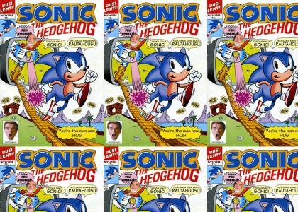 Sonic gives random, nonsensical advice