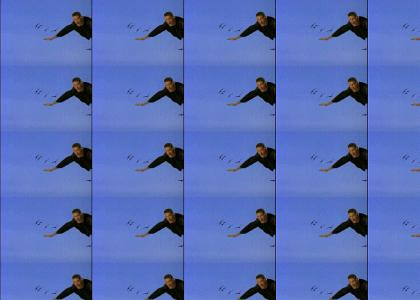 Hasselhoff can fly!