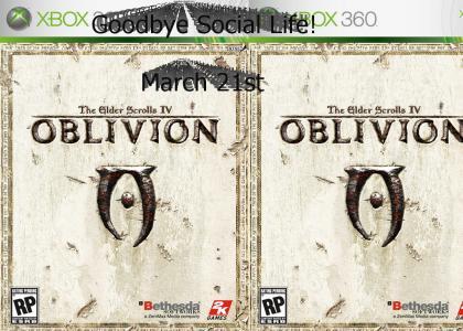 Oblivion has gone GOLD!
