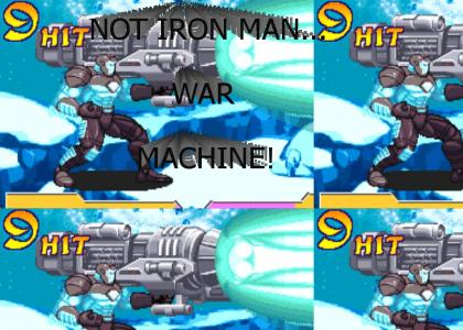 Not Iron Man... War Machine!