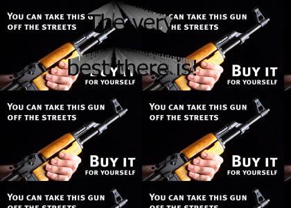 Buy an AK-47.