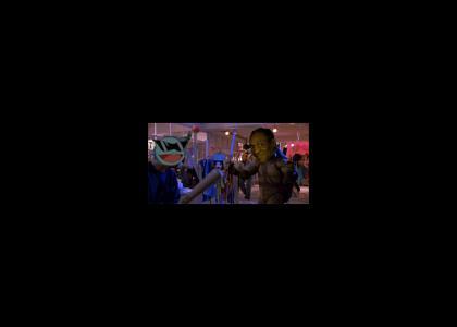 Cosby, Über Ninja Turtle