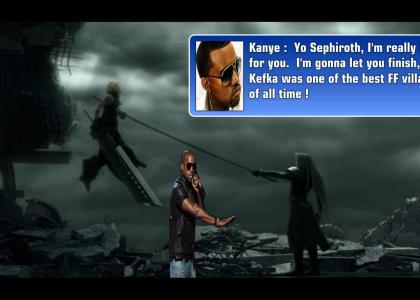 Kanye interrupts Sephiroth