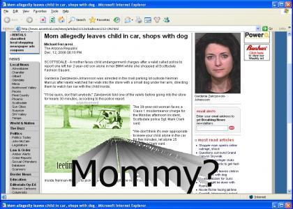 Xmas shopping Mom blunders big