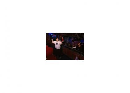 Artie Lange Dancing