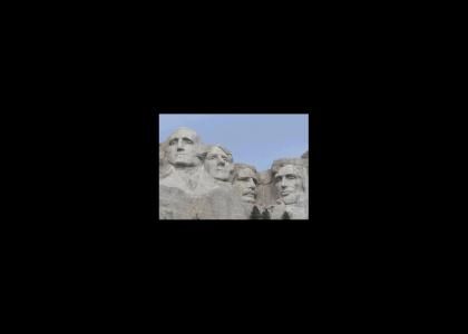 Mount Rushmore Never Changes Facial Expressions