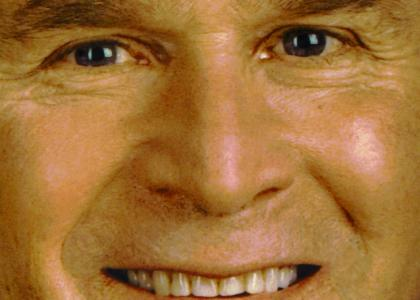 George W. Bush Stares Into Your Soul