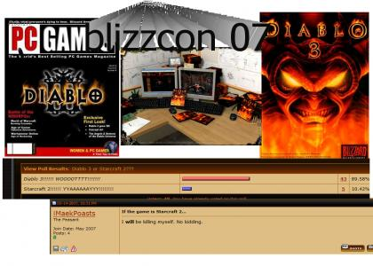 Come DIABLO fans D3 to be announced 2007