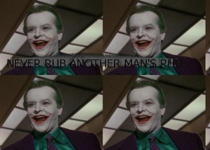 Joker's Advice to All Men