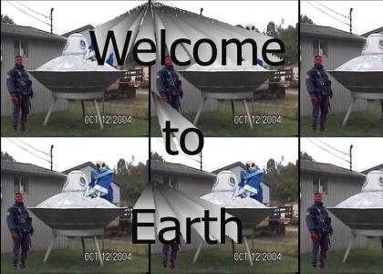 Welcome to Earth!