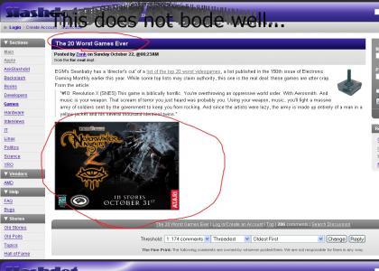 Slashdot reveals a hidden prophecy!