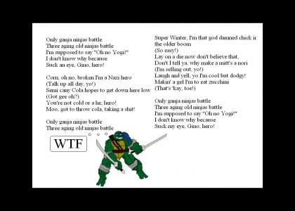 Another TMNT Interpretation (now with ganja)