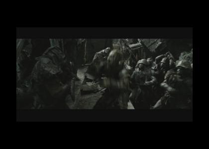 Epic Mordorian Orc Manuever