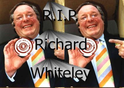 R.I.P. Richard Whiteley, Presenter of Countdown.