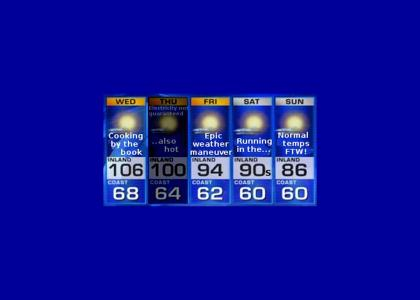 YTMND Five Day Forecast (now with more fad music)
